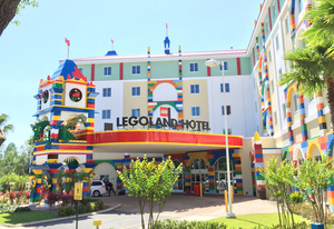 LEGOLAND Motel is just outside LEGOLAND Florida about an hour east of Tampa The nexus is built for kids with parents in mind Photo by Mandy Carter