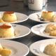 Flan with rice pudding is a classic dessert at La Bodeguita del Medio. Photo by Gina Birch.