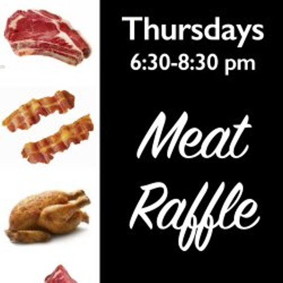 Meat raffle tonight 11