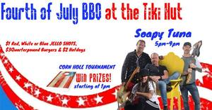 Fourth of July at the Tiki Hut - start Jul 04 2017 1200PM