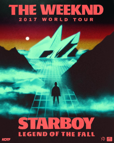 Starboy legend of the fall tour poster