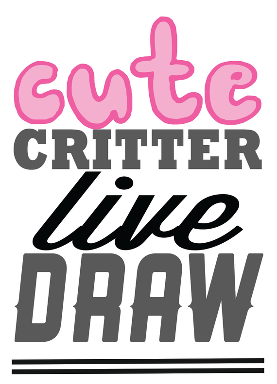 Cute 20critters 20live 20draw logo