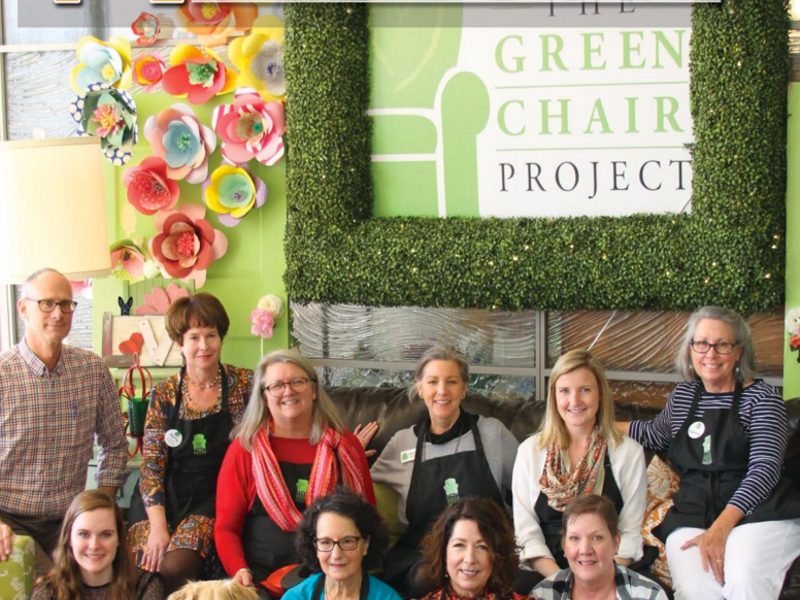 Issue 129 The Green Chair Project Triangle Downtowner