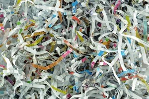 Medium shredded paper documents 440x293