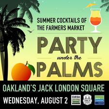 Medium party palms square
