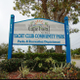 Yacht club community park sign