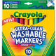 Crayola Ultra-Clean Washable Markers, $5.99 at Gold Country Ace Hardware and Hobbies, 4121 Cameron Park Drive, Cameron Park. 530-677-4417, acehardware.com