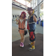 Lindsey Spiker and Bobby Prieto dressed up as Kingdom Heart couple Kairi and Sora. (Keyra Kristoffersen/City Journals)