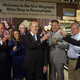 Governor Tom Wolf at the opening of the first Wegmans Wine Shop