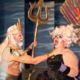 King Triton and Ursula battle each other. (James Crane/Herriman Arts Council)