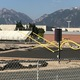 Construction began in June to install new field turf at Riverton High School. (Greg James/City Journals)