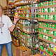 Taylorsville Food Pantry volunteer Sue Lane says cash and food donations are always welcome. (Carl Fauver)