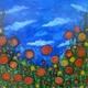 Field of Flowers by Jennifer Lex Wojnar