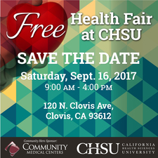 Medium health fair save the date ig