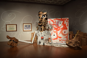 Art Gallery Bob Rauschenberg Gallery at FSW State College