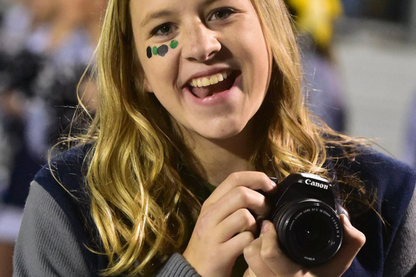 Corner Canyon High senior Taylor Sampson, who is the yearbook's photo editor and the student body officer over technology, was named the national Student to Celebrate. (Taylor Sampson/Corner Canyon High School)