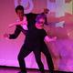 Garrett Price and Edie Barnhardt channel Prince during their dance. Photo credit: Chad Mitchell.