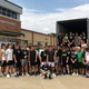 The 2017 Dragon football team collected much-needed cleaning supplies in support of friends in Kingwood, Texas in the wake of Hurricane Harvey.