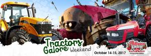 Tractors Galore Weekend - start Oct 14 2017 1000AM