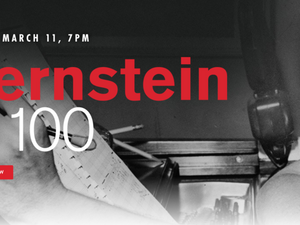 Bernstein At 100 - start Mar 11 2018 0700PM