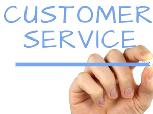 Main image customer service