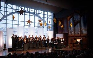 Medium christmas concert