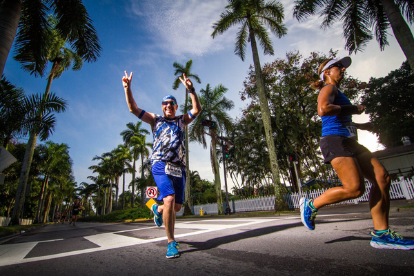 The annual Fort Myers Marathon takes runners through the City of Palms. Photo courtesy of Fort Myers Marathon.