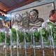 Mojitos line the bar at Havana's well-known La Bodeguita del Medio. Photo courtesy of Libby McMillan Henson.