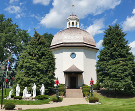 The Silent Night Chapel in Frankenmuth sits adjacent to Bronners Photo courtesy of Bronners Christmas Wonderland