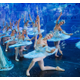 Moscow Ballet Corps de Ballet Kneeling Snowflakes. Photo courtesy of Moscow Ballet.