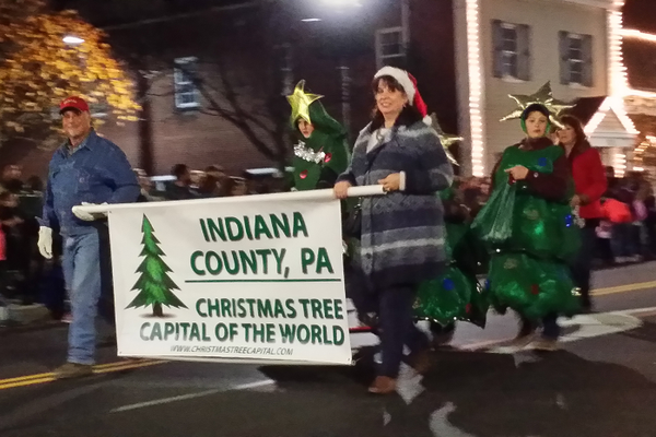 The annual Lucy Donnelly Holiday Festival and Parade