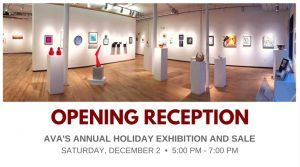 Holiday Exhibition and Sale - start Dec 02 2017 0500PM