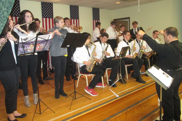 The Avon Grove Charter School Music Department provided nostalgic tunes for the breakfast.