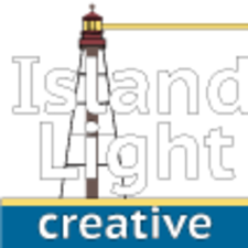 Medium island 20light 20creative 20logo