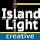 Thumb island 20light 20creative 20logo