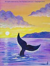 Medium whale 20fluke