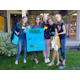 Student team Boreal Toads, or the Terrific Toads (seventh grade), from left to right: Heidi Thomas, Caroline Pace, Anna Lund, Ruby Salazar and Ashley Marriott.
