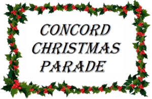 Concord Christmas Parade - start Nov 18 2017 0230PM
