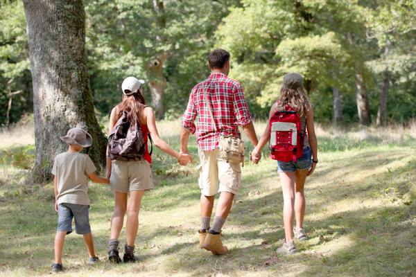 Take a hike with your family to get to the heart of what's really important.