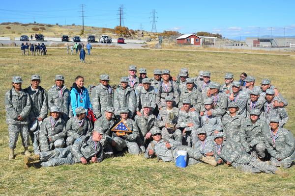 Taylorsville High School's JROTC orienteering team placed well in competition this season. (Jason Garn/Taylorsville HS)