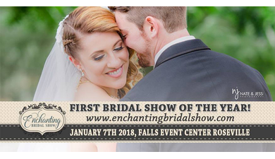 Enchanting bridal show roseville wedding event 2018