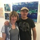 Roderick Hidalgo II and Trissa Hill at RH Gallery and Studios Photo by Kevin Barrett