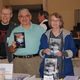 Authors Ed Charlton James DiLuzio and Maryellen Winkler at the Hockessin Art  Book Fair