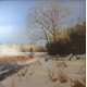 Peter Sculthorpe's oil 'Sunlit Morning.'