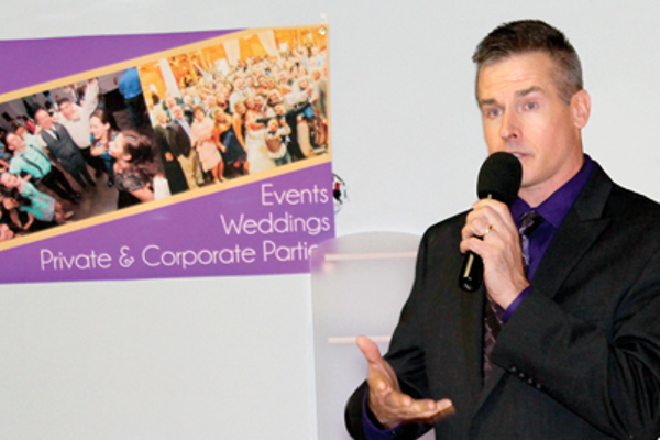 Joe DeWolfe of Valley DJ explains the custom services he offers for special events.