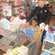 Ezekiel Mayo goes shopping with officer Michael Cabry.