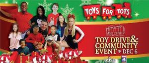 MISDs 6th Annual Toys for Tots Drive - start Dec 06 2017 0500PM