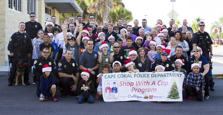 Shop with a cop group photo 768x396