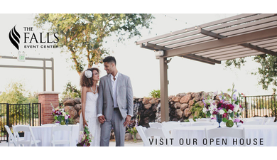 The falls event center open house sacramento wedding venue