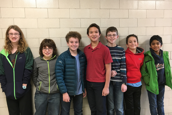 DMS Students Win First Place in Quiz Bowl